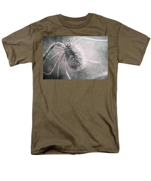 Men's T-Shirt  (Regular Fit) featuring the photograph Teazel Weed by Tom Mc Nemar