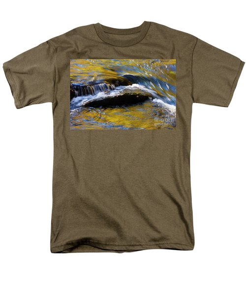 Men's T-Shirt  (Regular Fit) featuring the photograph Tellico River - D010004 by Daniel Dempster