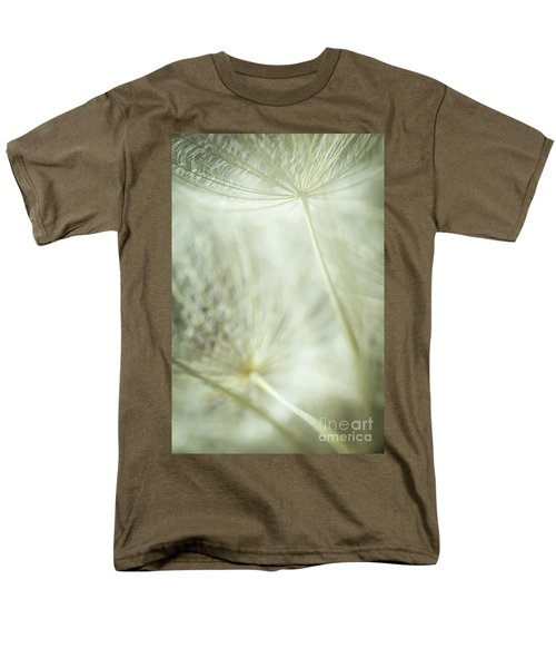 Tender Dandelion Men's T-Shirt  (Regular Fit) by Iris Greenwell