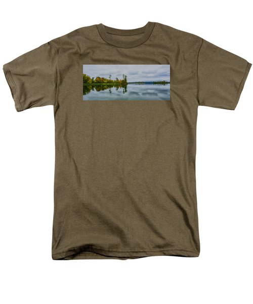 Men's T-Shirt  (Regular Fit) featuring the photograph Tennesse River by Susi Stroud