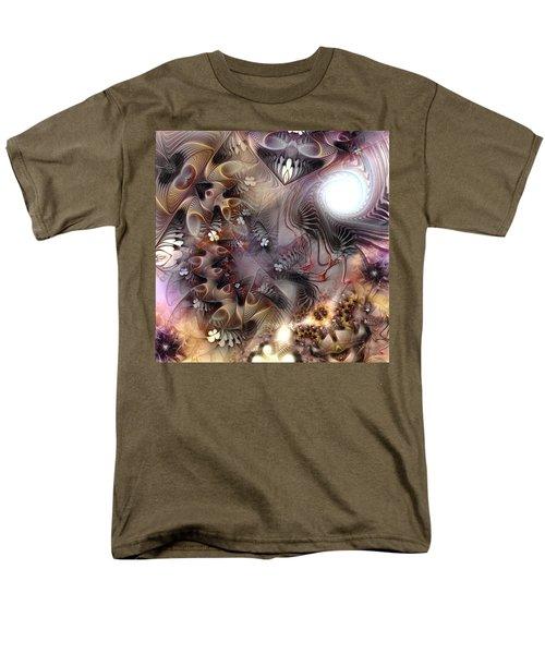 Men's T-Shirt  (Regular Fit) featuring the digital art Terminating Turpitude by Casey Kotas