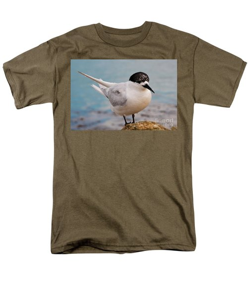 Men's T-Shirt  (Regular Fit) featuring the photograph Tern 1 by Werner Padarin