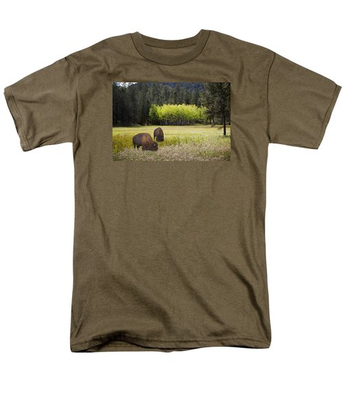 Men's T-Shirt  (Regular Fit) featuring the photograph Tetonka by John Hix