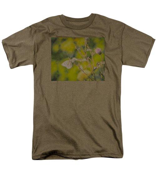 Textured Butterfly 1   Men's T-Shirt  (Regular Fit)