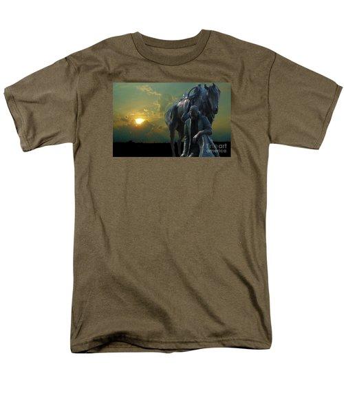 Thanks For The Rain  Men's T-Shirt  (Regular Fit) by Janette Boyd