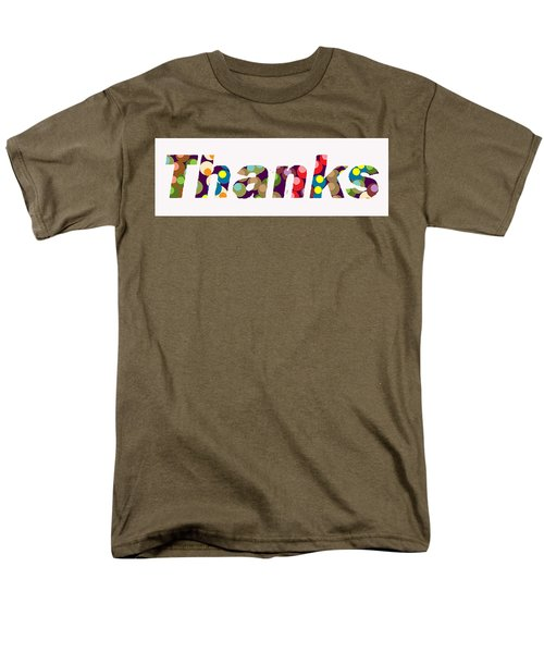 Thanks Men's T-Shirt  (Regular Fit)