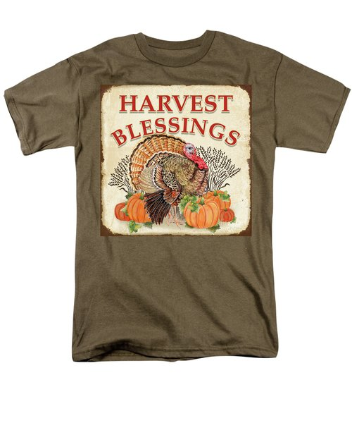 Men's T-Shirt  (Regular Fit) featuring the painting Thanksgiving-e by Jean Plout