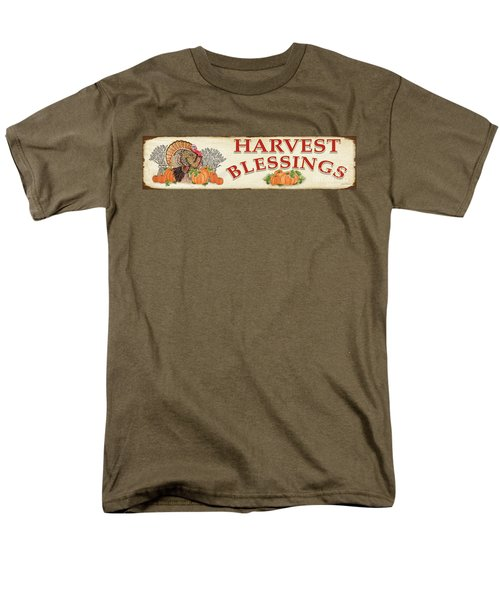 Men's T-Shirt  (Regular Fit) featuring the painting Thanksgiving-f by Jean Plout