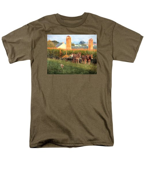 The Abundant Harvest Men's T-Shirt  (Regular Fit) by Colleen Taylor