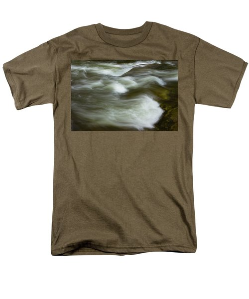 Men's T-Shirt  (Regular Fit) featuring the photograph The Action On Top by Mike Eingle