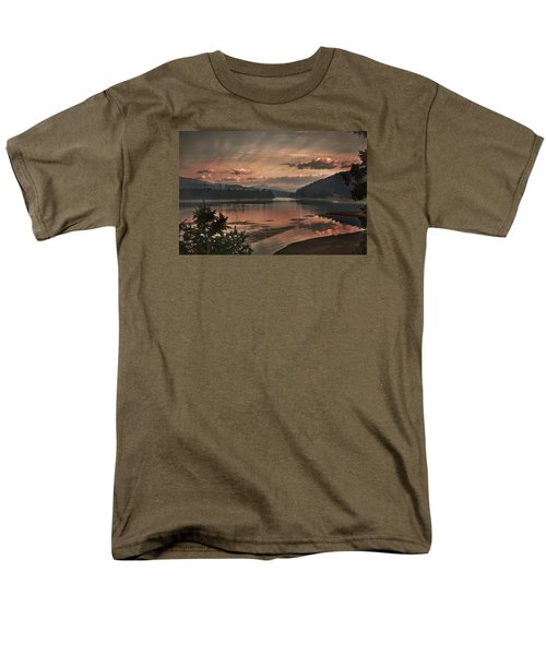 The Adventure Begins Men's T-Shirt  (Regular Fit) by Loni Collins
