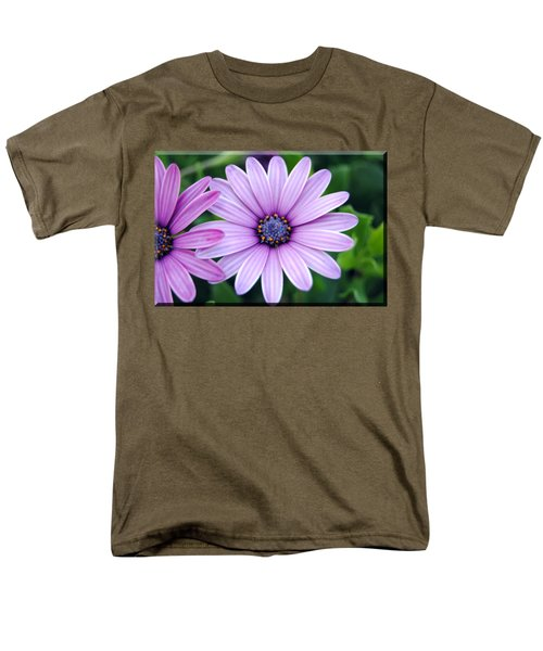 The African Daisy T-shirt 2 Men's T-Shirt  (Regular Fit) by Isam Awad