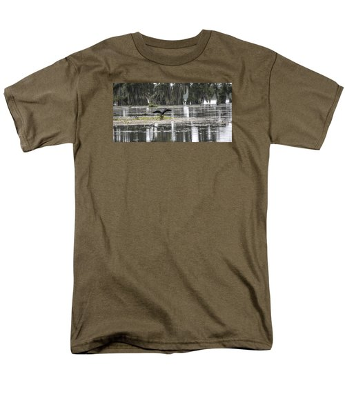 The Announcer  Men's T-Shirt  (Regular Fit) by Betsy Knapp