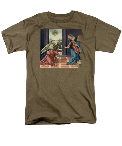 The Annunciation After Botticelli Men's T-Shirt  (Regular Fit) by Yvonne Wright
