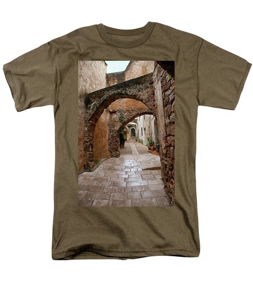 The Archways Of Villecroz Men's T-Shirt  (Regular Fit) by Jacqi Elmslie