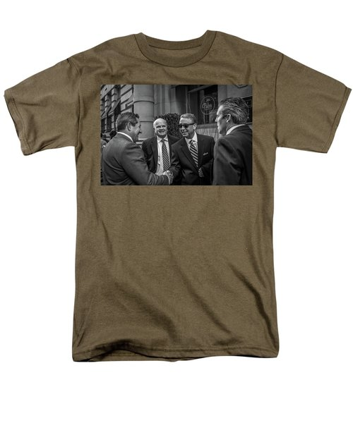 Men's T-Shirt  (Regular Fit) featuring the photograph The Art Of The Deal by David Sutton