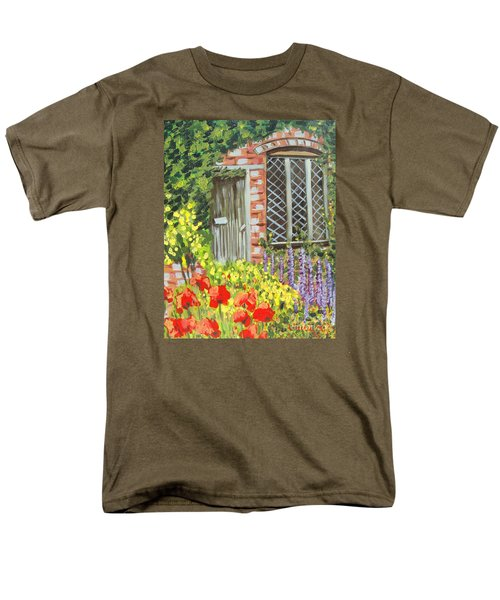The Artist's Cottage Men's T-Shirt  (Regular Fit) by Laurie Morgan