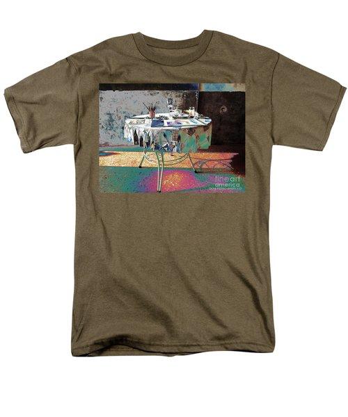 The Artists Table Men's T-Shirt  (Regular Fit) by Don Pedro De Gracia