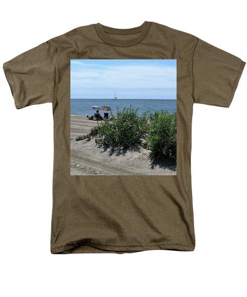 The Beach Men's T-Shirt  (Regular Fit) by John Scates