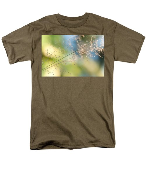 The Beauty Of The Earth. Natural Watercolor Men's T-Shirt  (Regular Fit) by Jenny Rainbow