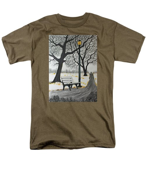 The Bench Men's T-Shirt  (Regular Fit) by Jack G  Brauer