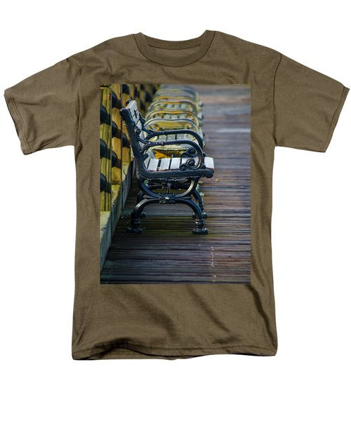 The Bench Men's T-Shirt  (Regular Fit) by Mary Ward