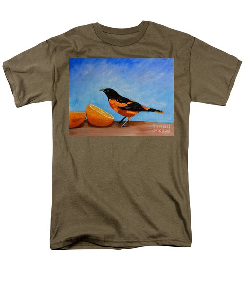 The Bird And Orange Men's T-Shirt  (Regular Fit) by Laura Forde
