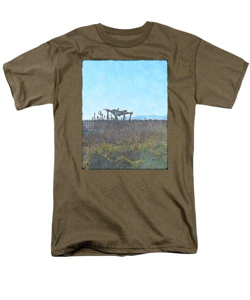 The Blind Men's T-Shirt  (Regular Fit) by Tobeimean Peter