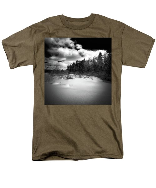 Men's T-Shirt  (Regular Fit) featuring the photograph The Calm Of Winter by David Patterson