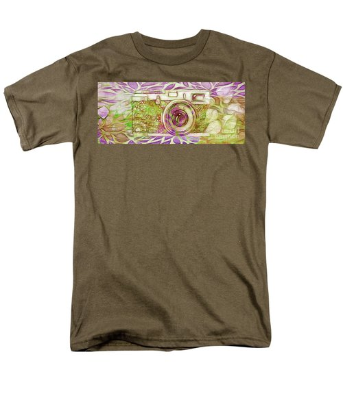 Men's T-Shirt  (Regular Fit) featuring the digital art The Camera - 02c6t by Variance Collections