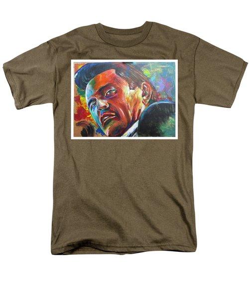 The Cash Man Men's T-Shirt  (Regular Fit) by Ken Pridgeon