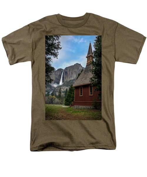 The Chapel Men's T-Shirt  (Regular Fit) by Sean Foster