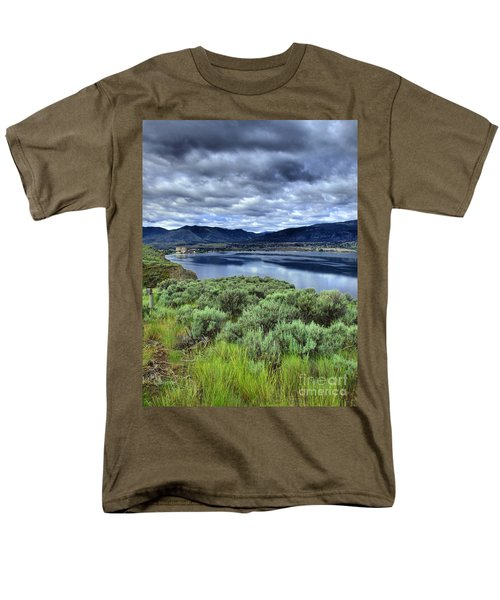 The City And The Clouds Men's T-Shirt  (Regular Fit) by Tara Turner