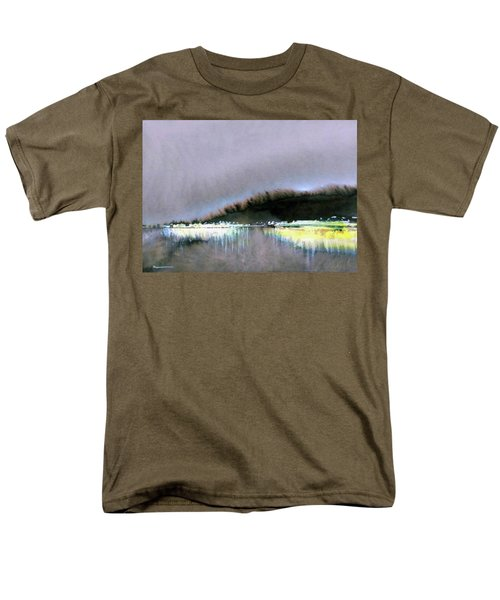 The City Lights Men's T-Shirt  (Regular Fit) by Ed Heaton