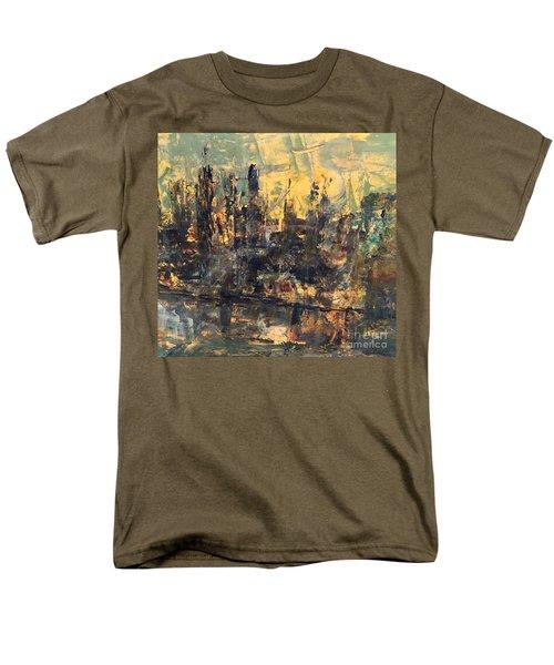 The City Men's T-Shirt  (Regular Fit) by Nancy Kane Chapman