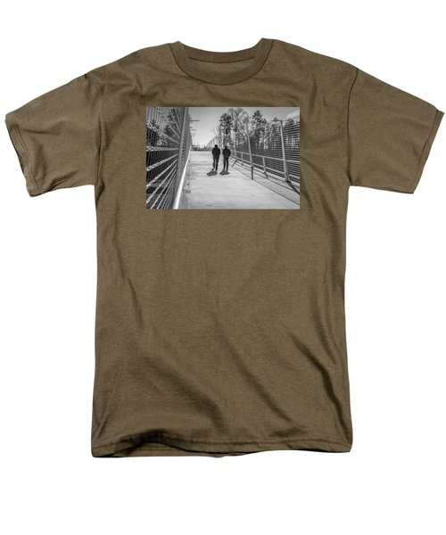 Men's T-Shirt  (Regular Fit) featuring the photograph The Conversation by Wade Brooks