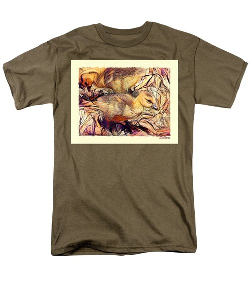 The Critic Men's T-Shirt  (Regular Fit) by Ludwig Keck