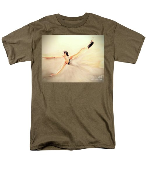 Men's T-Shirt  (Regular Fit) featuring the painting The Dance Of Life by FeatherStone Studio Julie A Miller