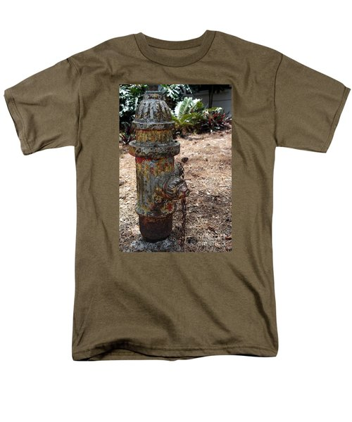 The Doggy Did It Men's T-Shirt  (Regular Fit) by Irma BACKELANT GALLERIES