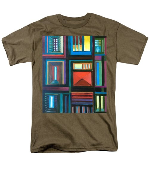 The Doors Of Hope  Men's T-Shirt  (Regular Fit) by Laila Awad Jamaleldin