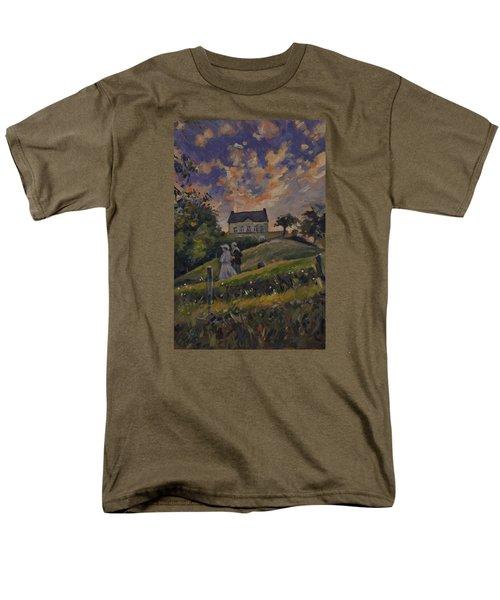 The Evening Stroll Around The Hoeve Zonneberg Men's T-Shirt  (Regular Fit)