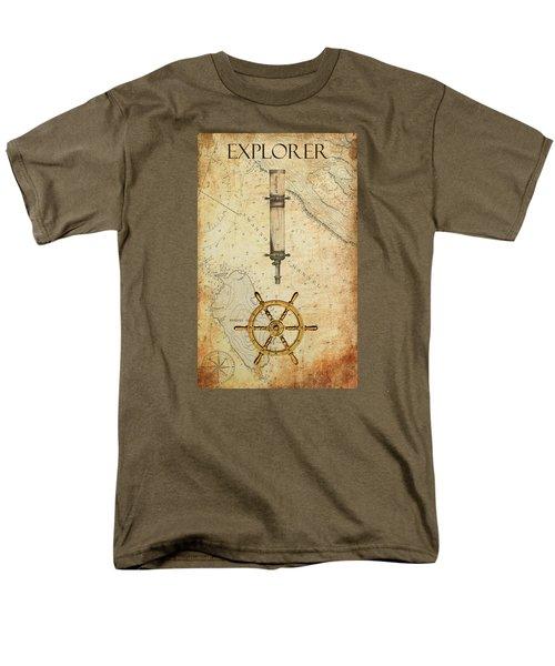 The Explorer Men's T-Shirt  (Regular Fit)