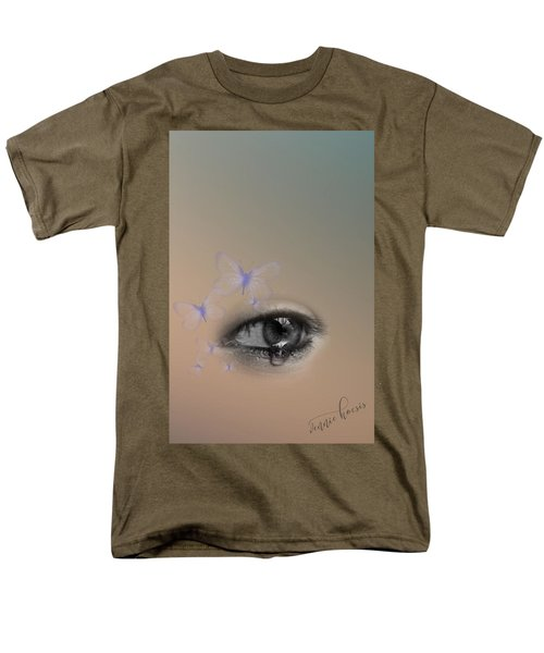 The Eyes Don't Lie Men's T-Shirt  (Regular Fit) by Vennie Kocsis