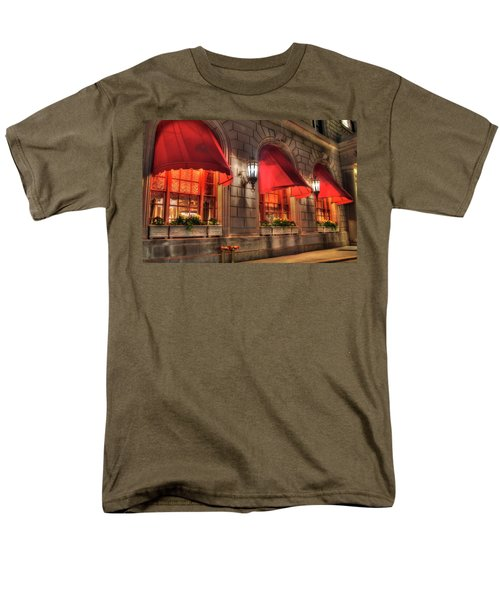 Men's T-Shirt  (Regular Fit) featuring the photograph The Fairmont Copley Plaza Hotel - Boston by Joann Vitali