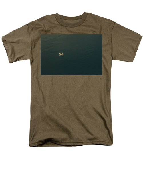 Men's T-Shirt  (Regular Fit) featuring the photograph The Feather 2 by Timothy Latta