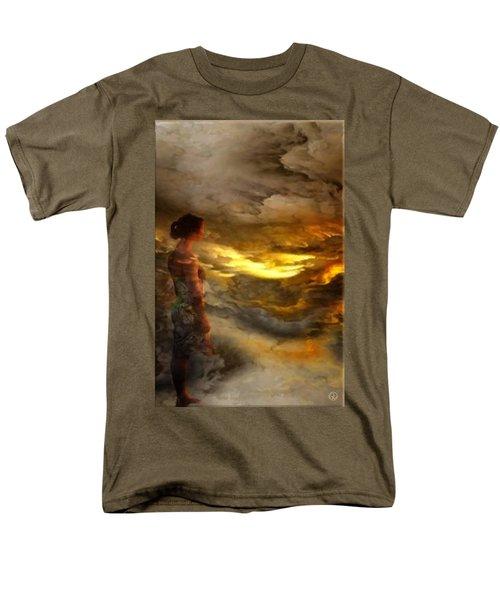The First Step Men's T-Shirt  (Regular Fit) by Gun Legler