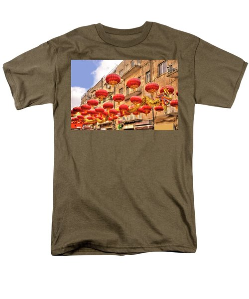 Men's T-Shirt  (Regular Fit) featuring the photograph The Flying Dragon by Uri Baruch