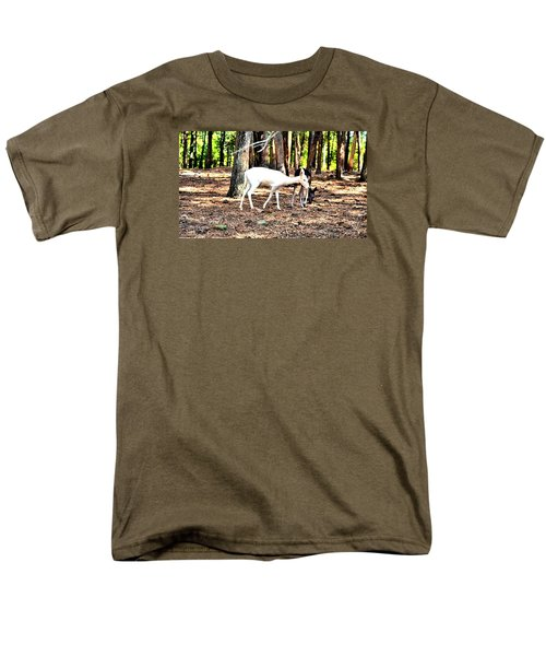 The Forest And The Deer Men's T-Shirt  (Regular Fit) by James Potts
