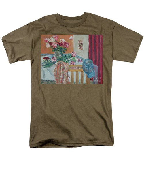 The Gardener's Table Men's T-Shirt  (Regular Fit) by Judith Espinoza