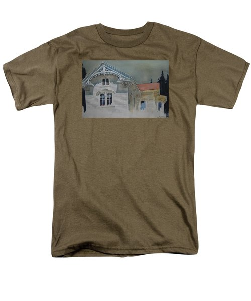 the Ginger Bread House Men's T-Shirt  (Regular Fit) by Len Stomski